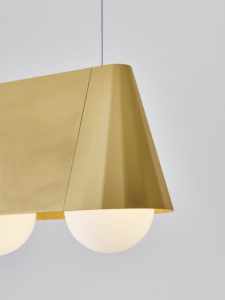 Cornet pendant light